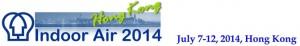 Indoor Air 2014, Hong Kong, July 7-12, 2014