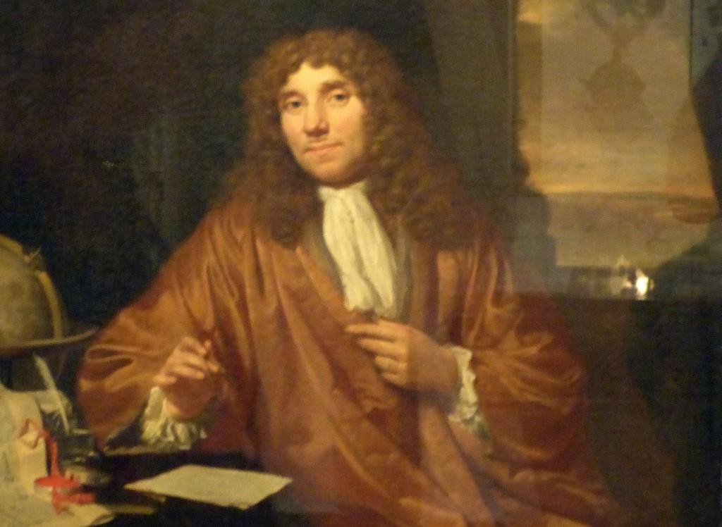 Contemporary portrait of van Leeuwenhoek, Boerhaave Museum