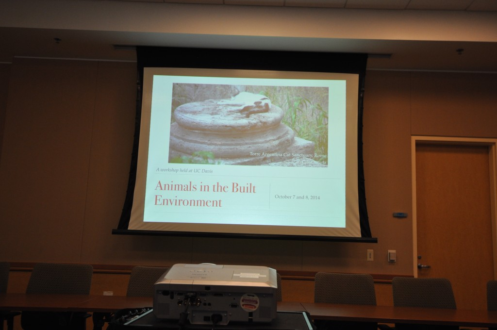 The AiBE Workshop was held at UC Davis on October 7 and 8, 2014
