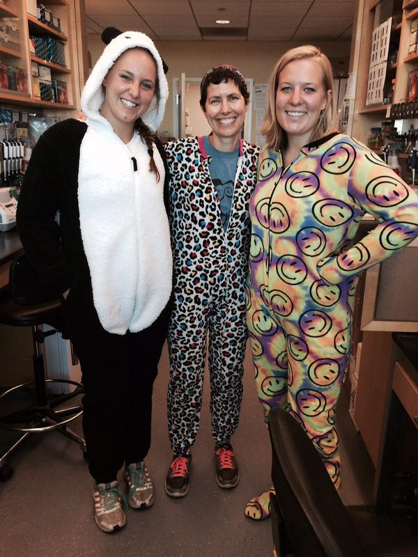 In the Eisen lab, we solve our thermostat problems with onesies. Photo via @hollyhganz