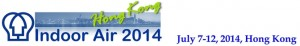 Indoor Air 2014, Hong Kong, July 7-12, 2014