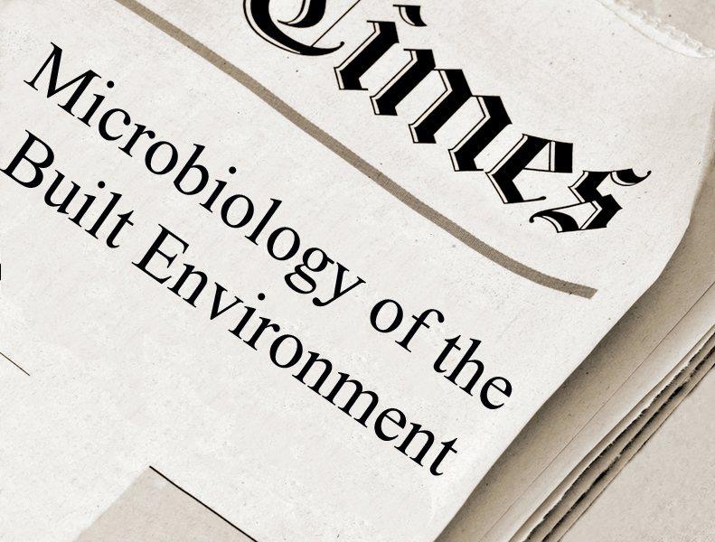 New papers on Microbiology of the Built Environment, August 27, 2016