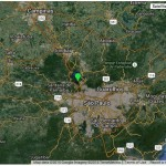 Google Map showing the study site location: Anhanguera Park, São Paulo
