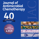 Journal of Antimicrobial Chemotherapy cover