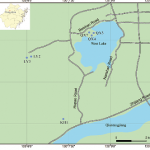 Sampling site locations.