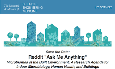 "Upcoming reddit ""Ask Me Anything"" #AMA on the Microbiology"